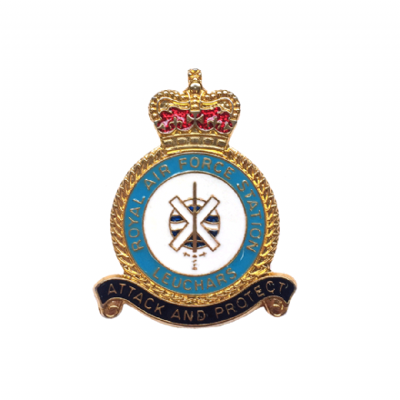 Royal Air Force RAF Station Leuchars Lapel Badge